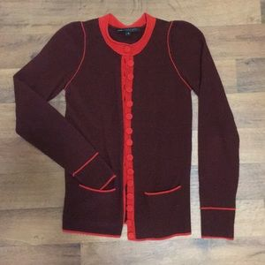 Marc By Marc Jacobs 100% Cashmere Cardigan